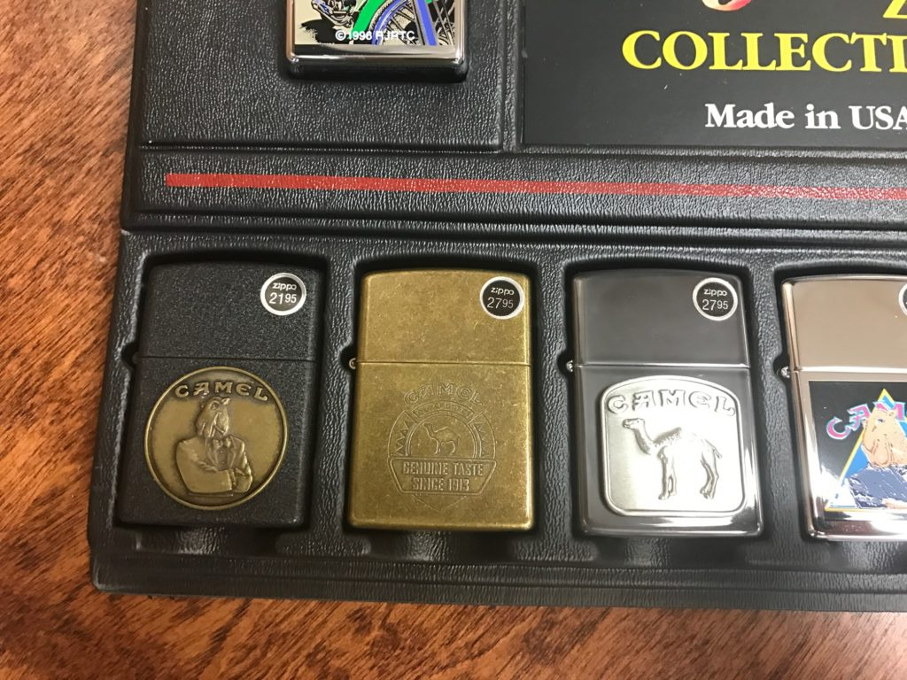 Zippo Camel Collectible Lighters